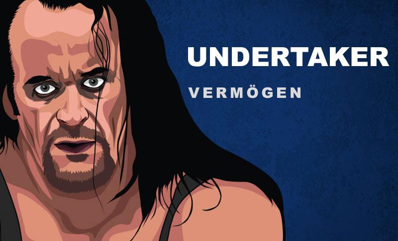 Undertaker Vermögen und Einkommen