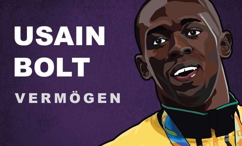 Usain Bolt Vermögen und Einkommen