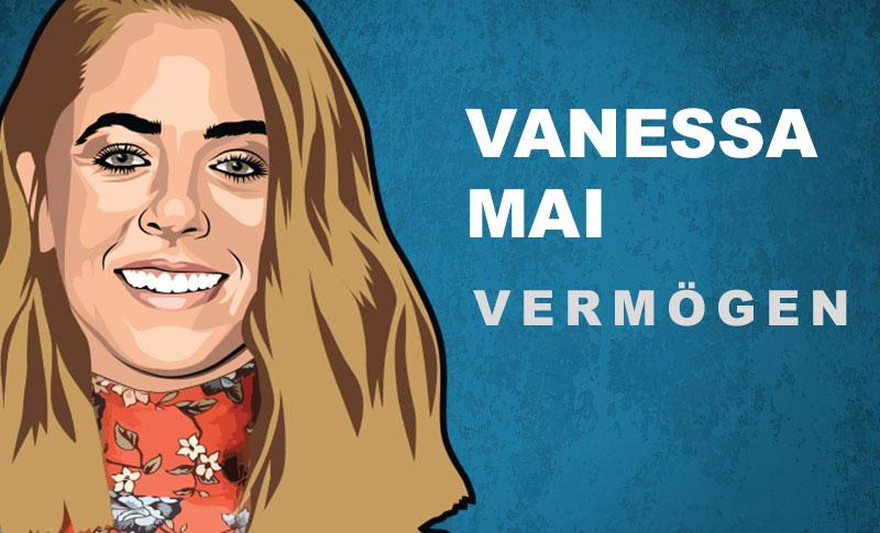 Vanessa Mai Vermögen und Einkommen