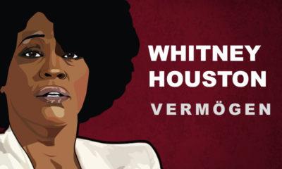 Whitney Houston Vermögen und Einkommen