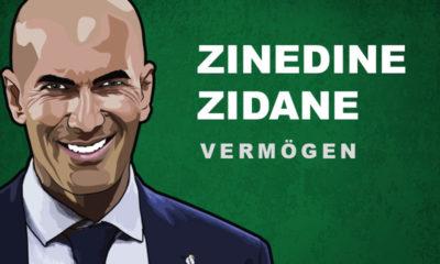 Zinedine Zidane Vermögen und Einkommen