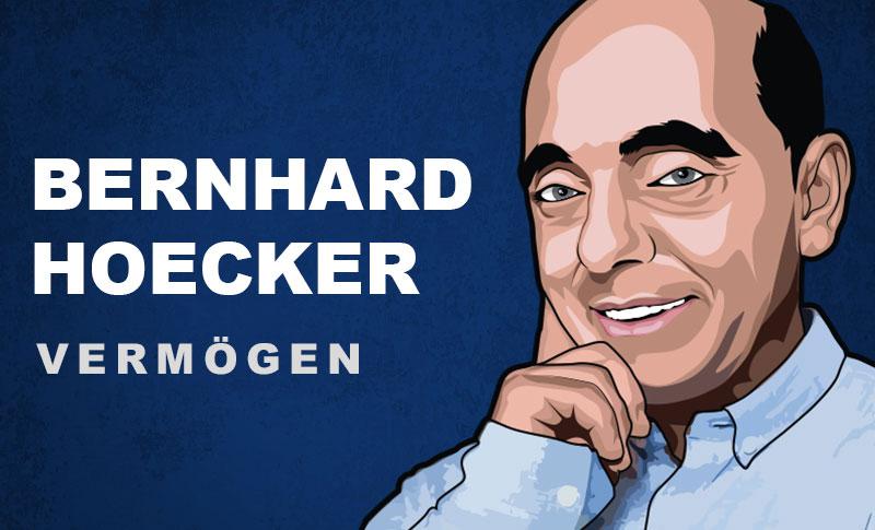 Bernhard Hoeker Vermögen und Einkommen