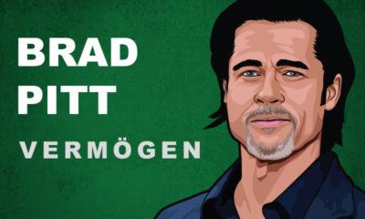 Brad Pitt Vermögen und Einkommen