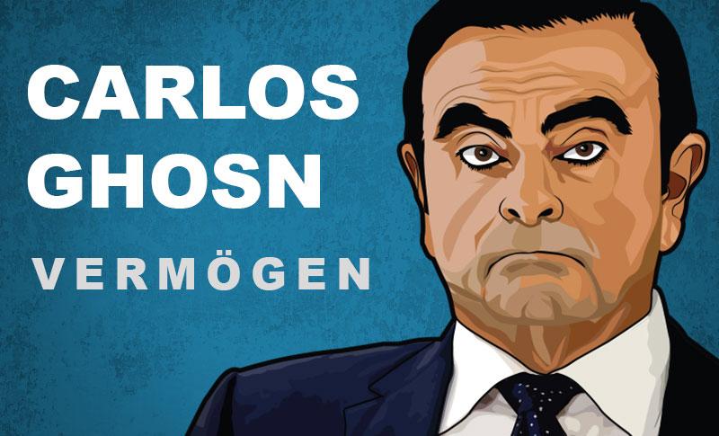 Carlos Ghosn Vermögen und Einkommen