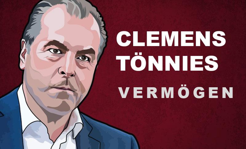 Clemens Tönnies Vermögen und Einkommen