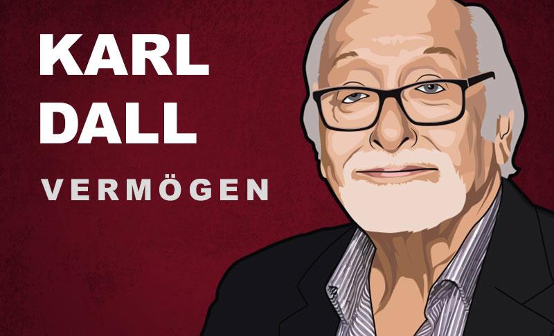 Karl Dall Vermögen und Einkommen