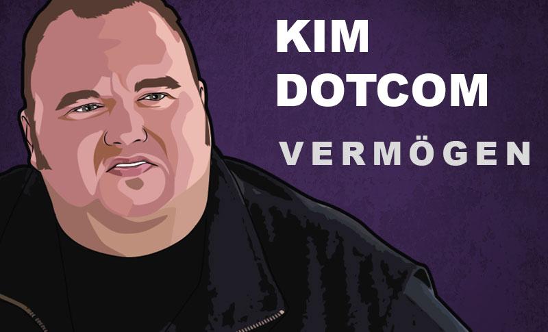 Kim Dotcom Vermögen und Einkommen