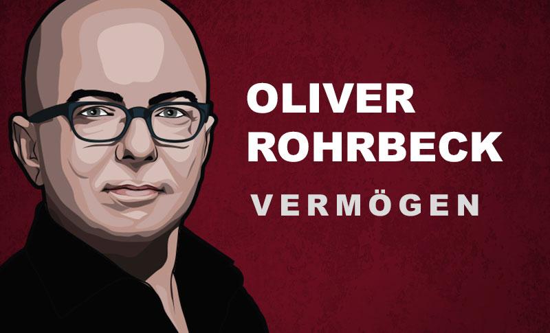 Oliver Rohrbeck Vermögen und Einkommen