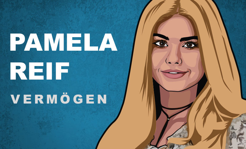 Pamela Reif Vermögen und Einkommen