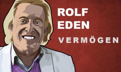 Rolf Eden Vermögen und Einkommen