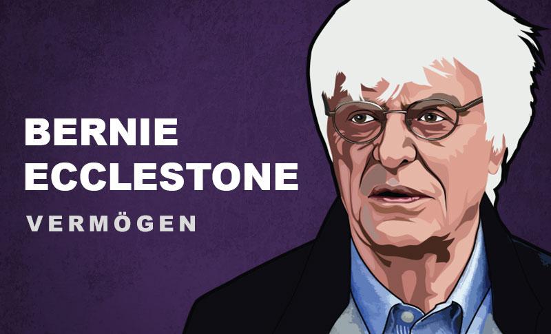 Bernie Ecclestone Vermögen und Einkommen