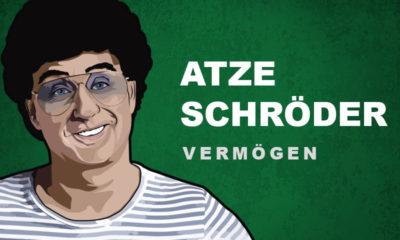 Atze Schröder Vermögen und Einkommen