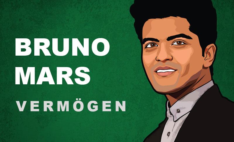Bruno Mars Vermögen und Einkommen