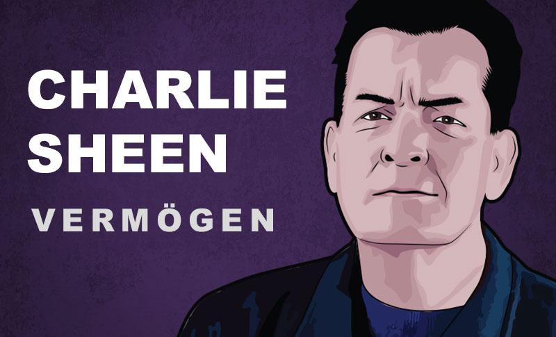 Charlie Sheen Vermögen und Einkommen