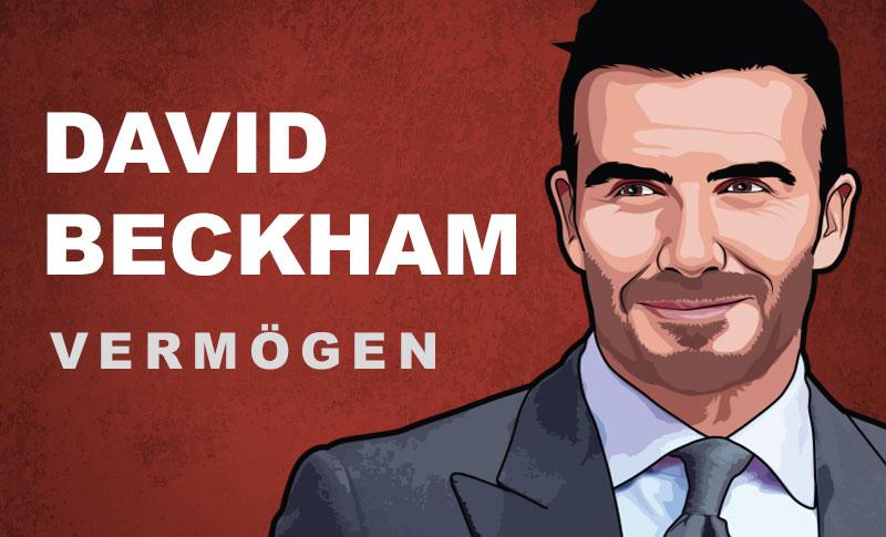 David Beckham Vermögen und Einkommen