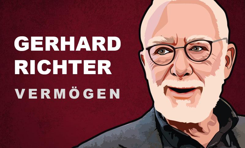 Gerhard Richter Vermögen und Einkommen