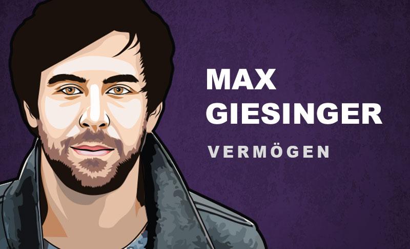 Max Giesinger Vermögen und Einkommen