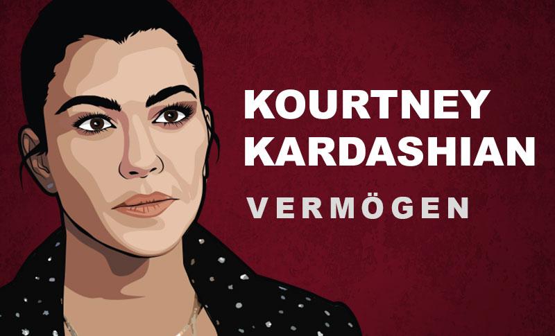 Kourtney Kardashian Vermögen