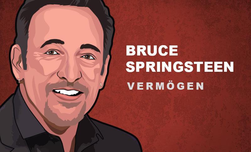 Bruce Springsteen Vermögen und Einkommen