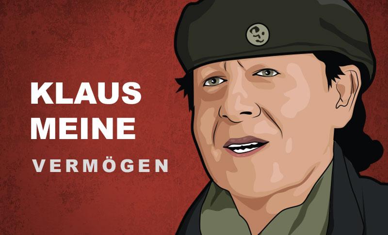 Klaus Meine Vermögen