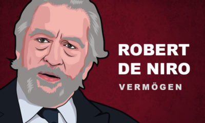 Robert de Niro Vermögen