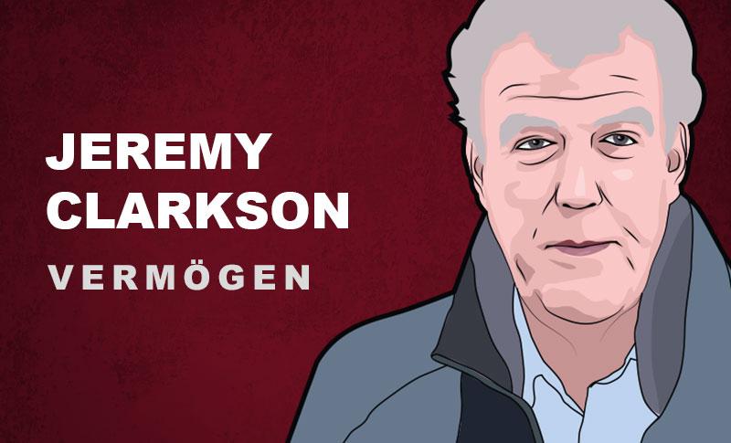 Jeremy Clarkson Vermögen