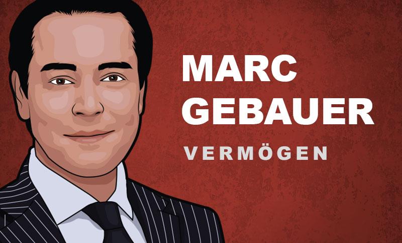 Marc Gebauer Vermögen